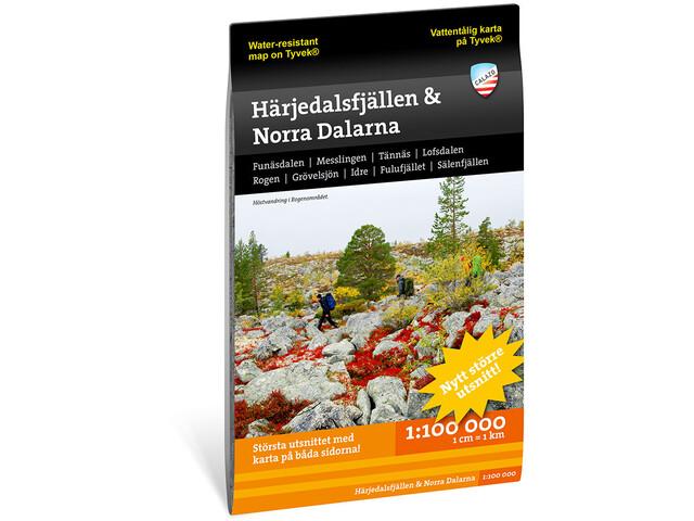Calazo Härjedalsfjällen & norra Dalarna 1:100.000